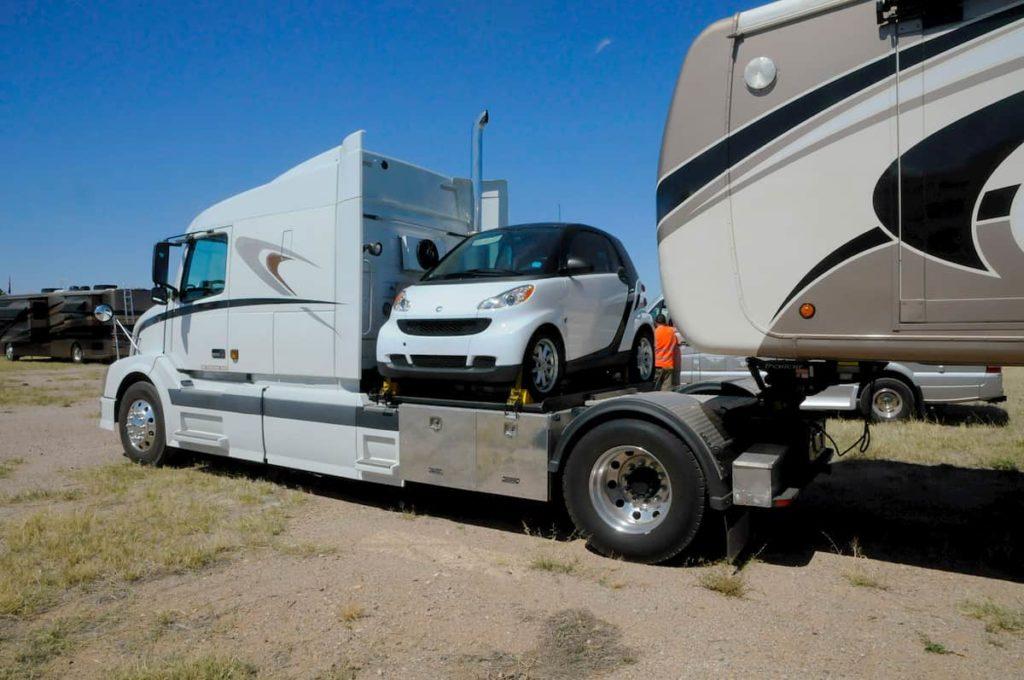 flat towable vehicles