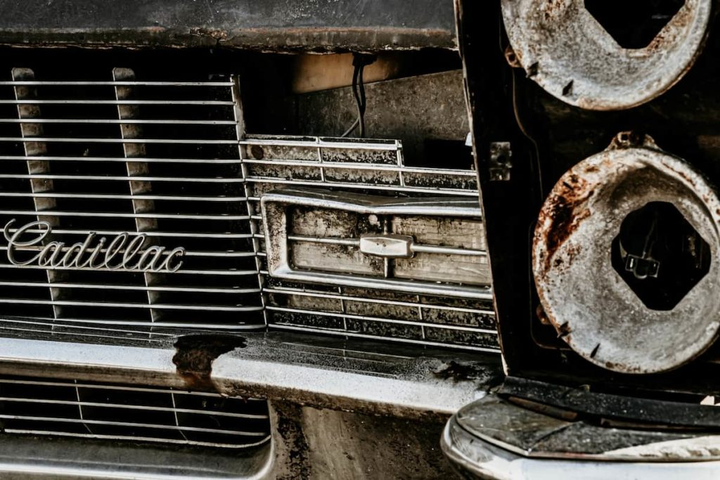 Deterioration of your car down to junk status