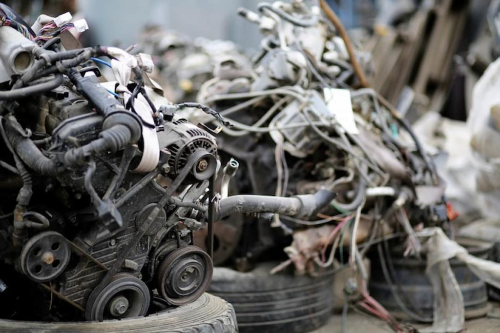 Salvageable parts