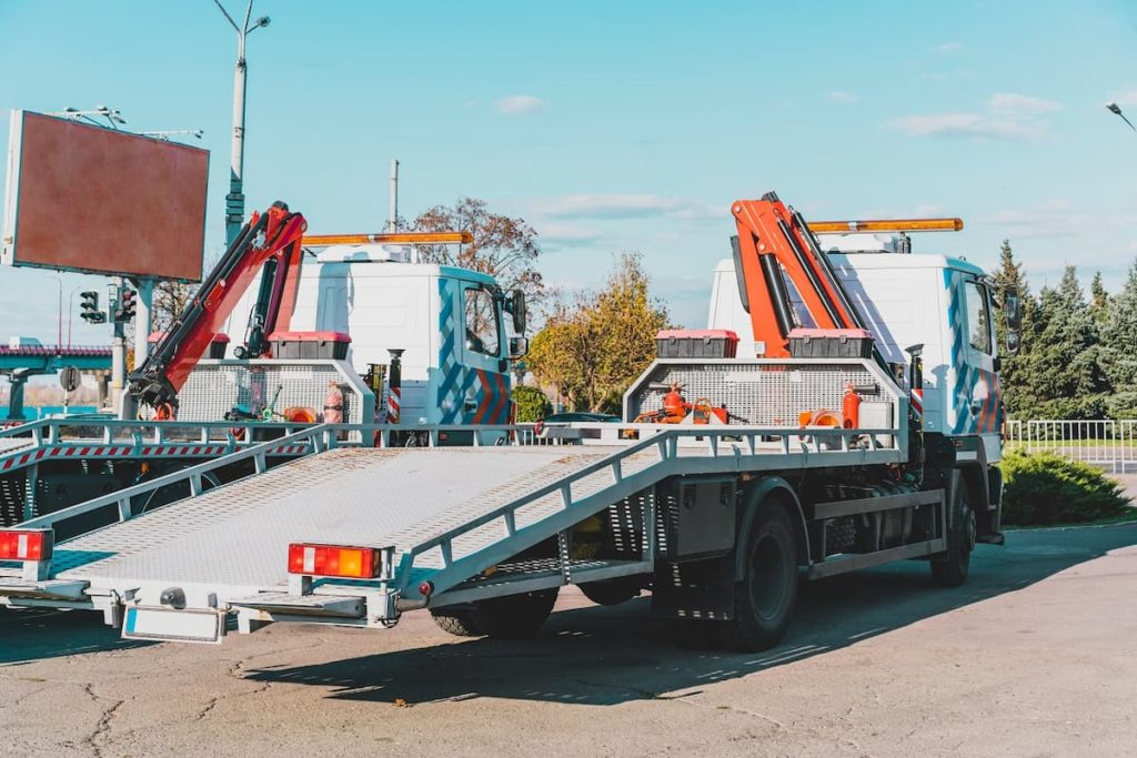 A Flatbed Is Always Part Of The Tow Truck Fleet