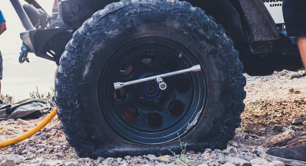 Learn how to fix a flat tire