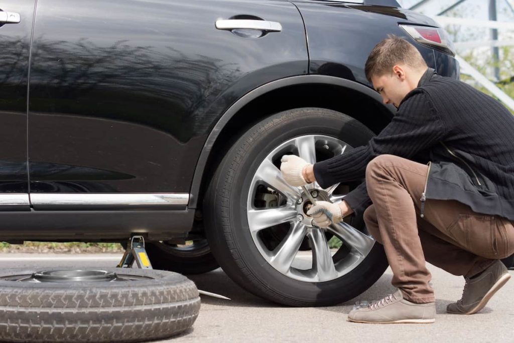 emergency tire repair activities